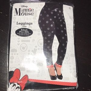 Disney Other - Minnie mouse adult plus size leggings